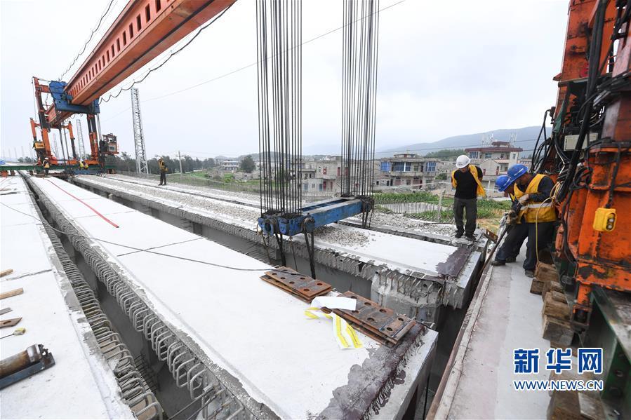 (经济)(4)福平铁路全线桥梁架设完成