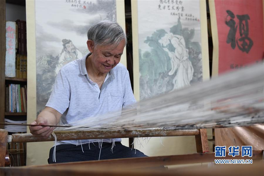 (文化)(4)福建永春:千年纸织画的传承