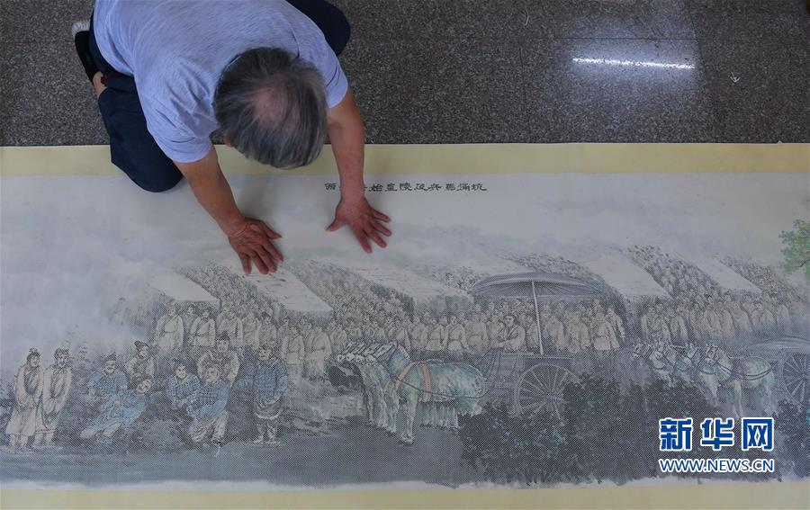 (文化)(3)福建永春:千年纸织画的传承