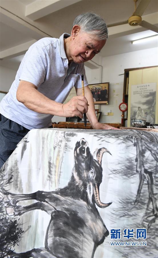 (文化)(5)福建永春:千年纸织画的传承