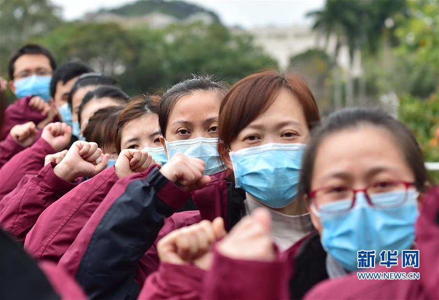 福建:新一批医护人员驰援湖北