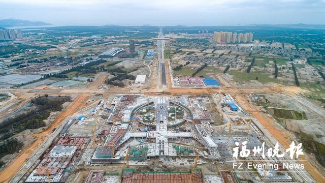 福平铁路平潭站封顶 预计9月进行铁路联调联试