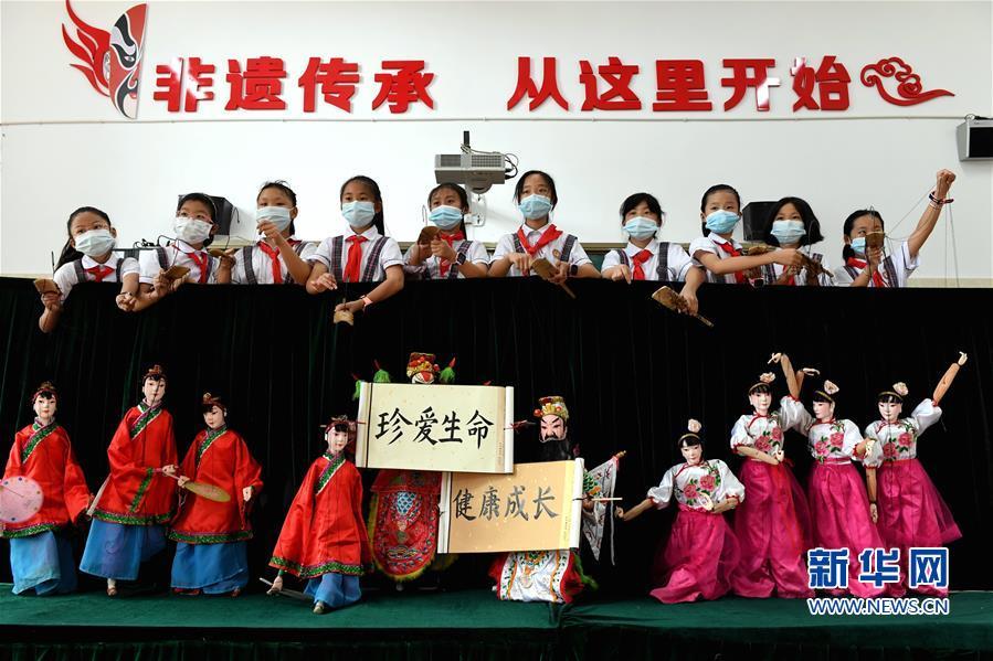福建连城:非遗文化传承提升校园禁毒意识